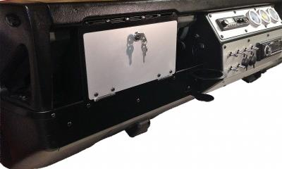 Defender glovebox